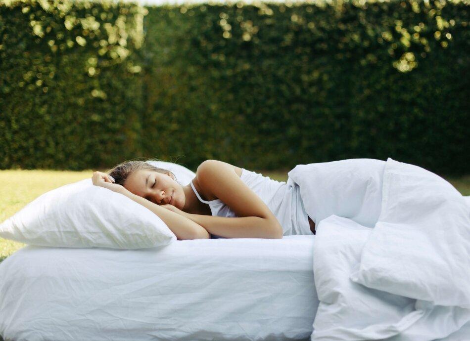 לישון טוב באווירה טובה