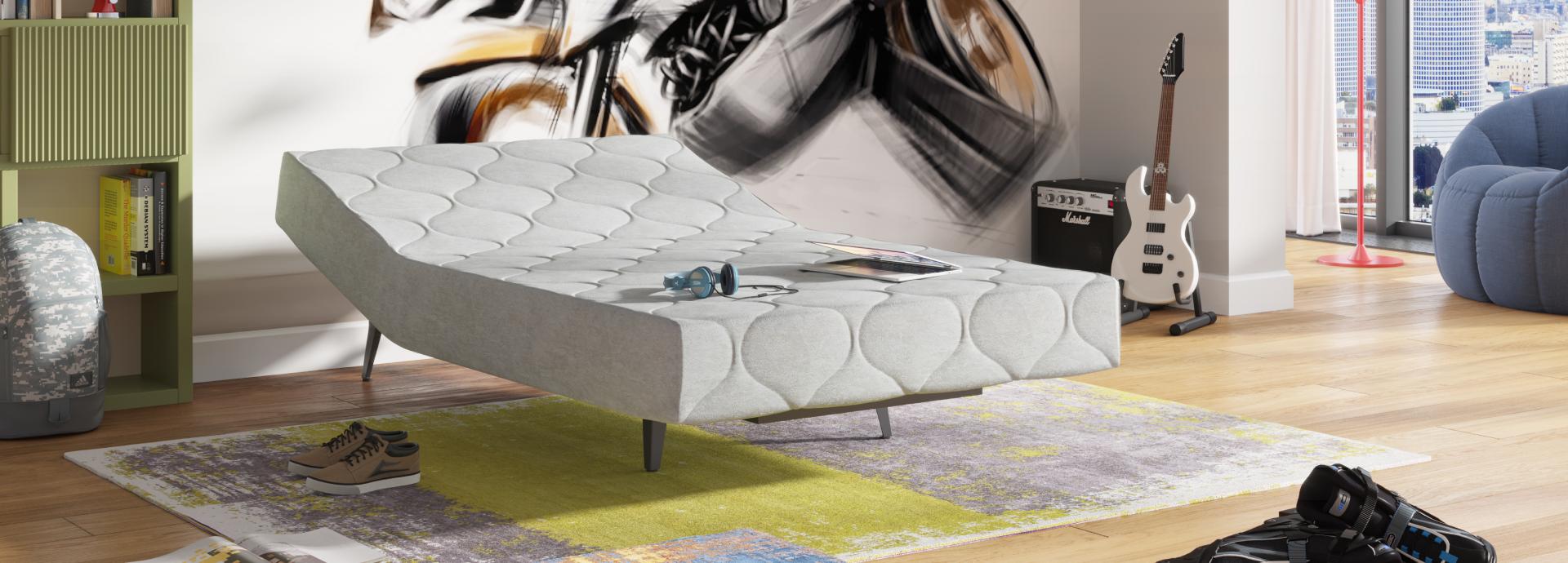 מיטת נוער הולנדיה וחצי בחדר