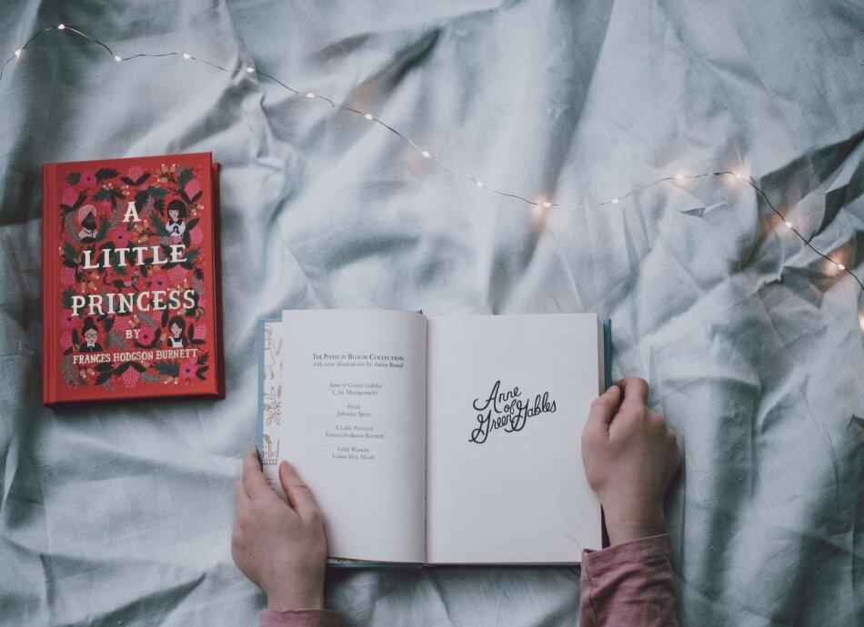 שינה טובה עם ספר לפני השינה