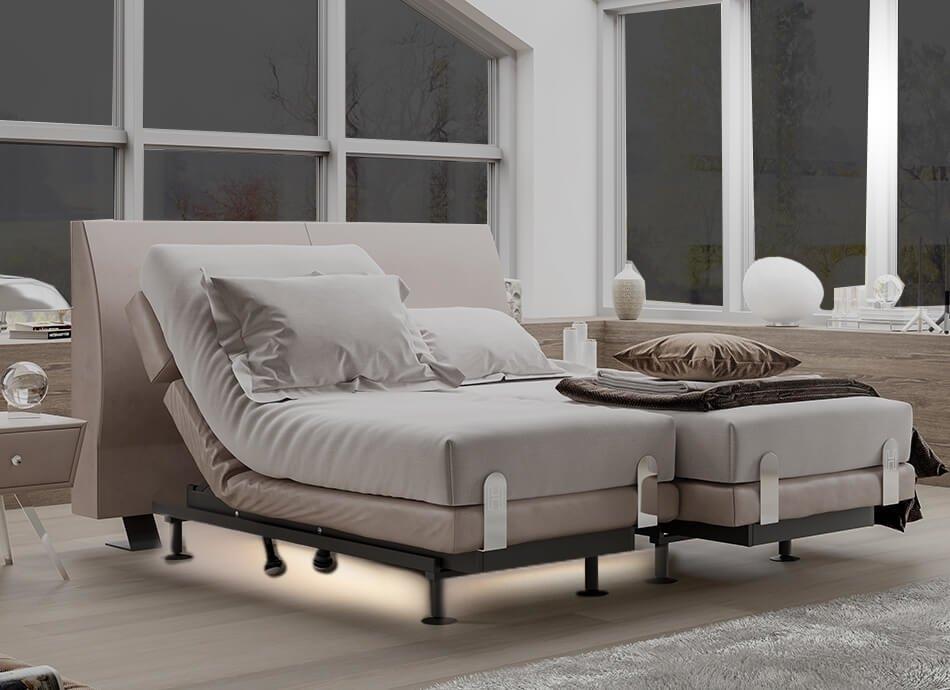 תאורת רצפה במיטת H2