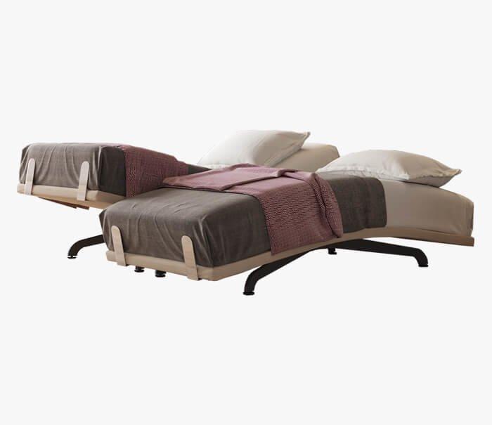 תמונההשקת המיטה הראשונה היורדת מתחת לקו 180 מעלות – פרפקט  TRIO-  דבר המספק תמיכה מתאימה לאנשים שרגילים לישון על הבטן.